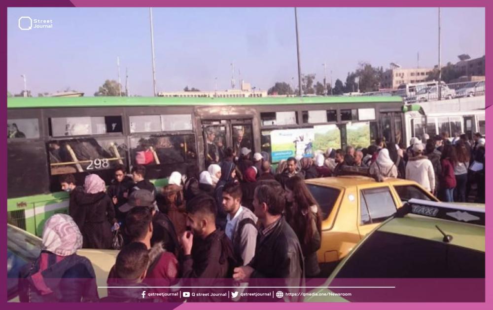 حوادث سرقة في دمشق بقيمة 10 ملايين ليرة.. مواقف الباصات والمحلات التجارية
