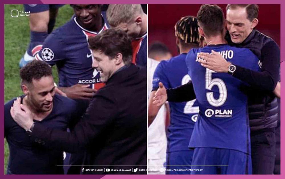 باريس سان جيرمان وتشلسي يتأهلان لنصف نهائي الأبطال رغم خسارتهما