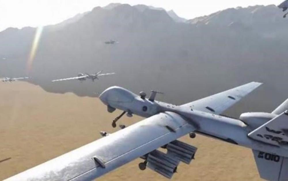 سلاح الجو اليمني ينفذ أكبر عملية هجومية في العمق السعودي