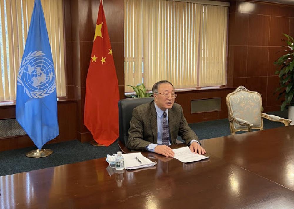 الصين تطالب المجتمع الدولي بدعم سوريا في هذه الأمور؟