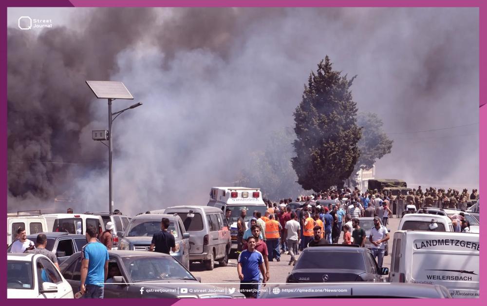 إشراف تركي على إغاثة جرحى انفجار مدينة عكار