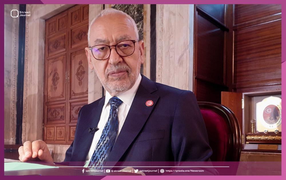 «الغنوشي» يطالب بالحوار لإنهاء أزمة تونس