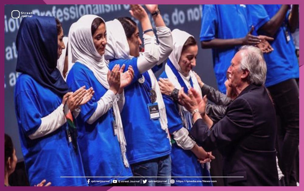 قطر ترسل طائرة لإجلاء فريق أفغاني مكون من تسع فتيات