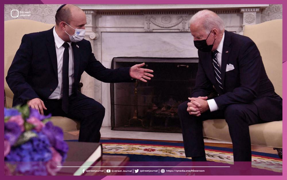 «بايدن» يطمئن «بينيت» بشأن نووي إيران !