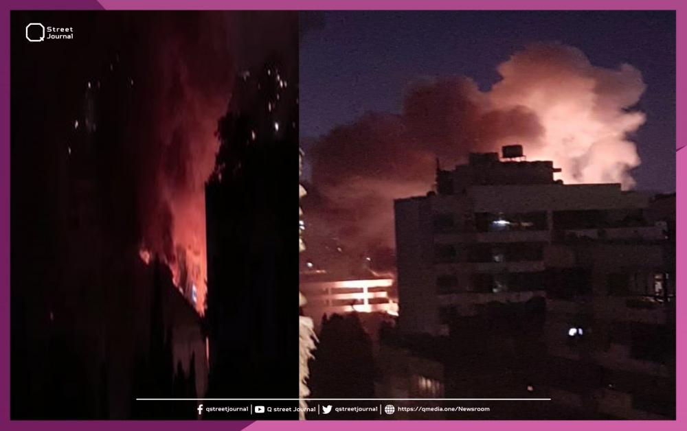 حريق ضخم في إحدى محطات الكهرباء الرئيسية اللبنانية