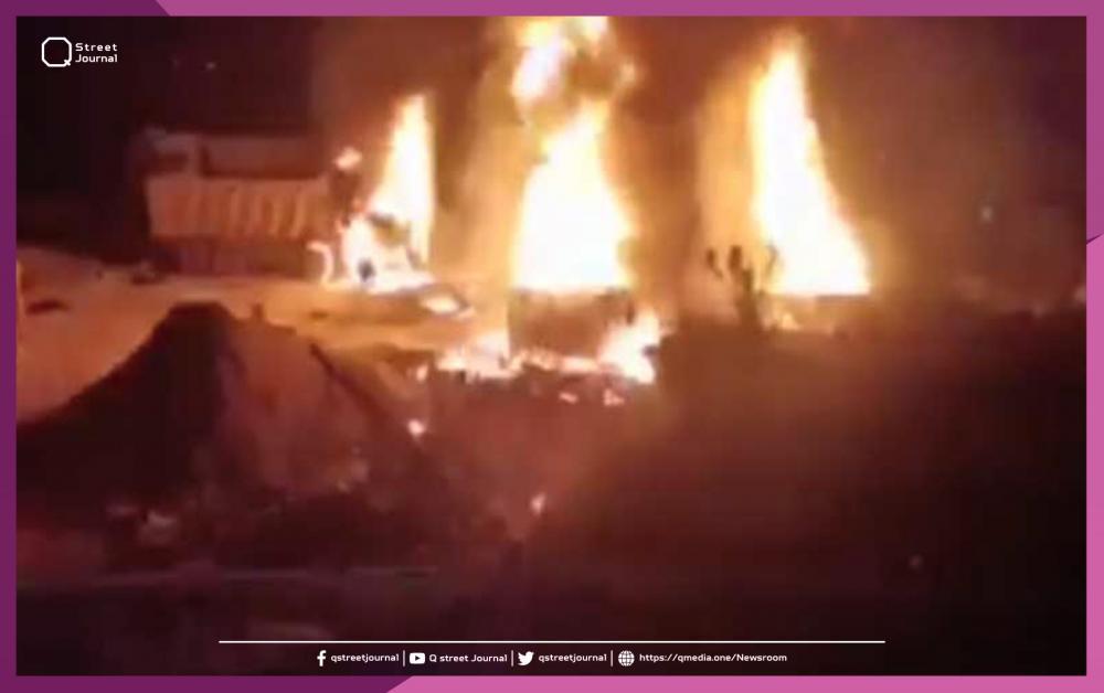 كارثة جديدة في لبنان .. 20 قتيلاً وعشرات الجرحى بانفجار صهريج وقود