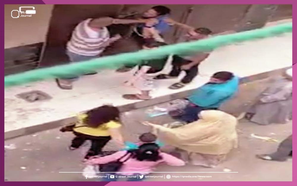 بالفيديو..متحرش يتلقى درساً لن ينساه