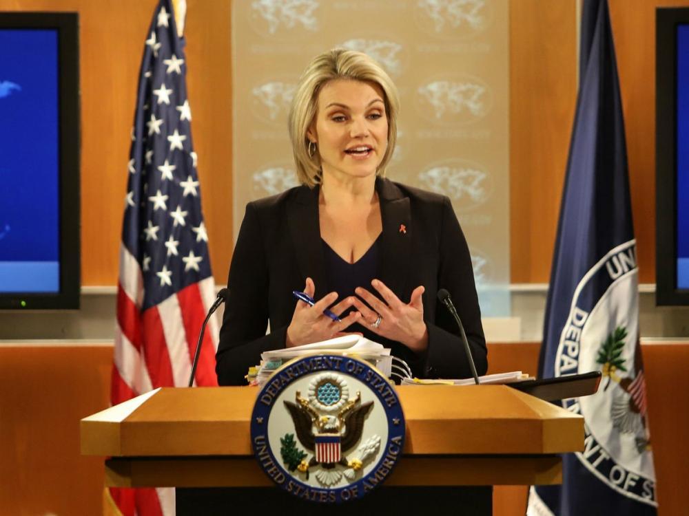 ترامب: الجميلة نويرت سفيرة للولايات المتحدة!