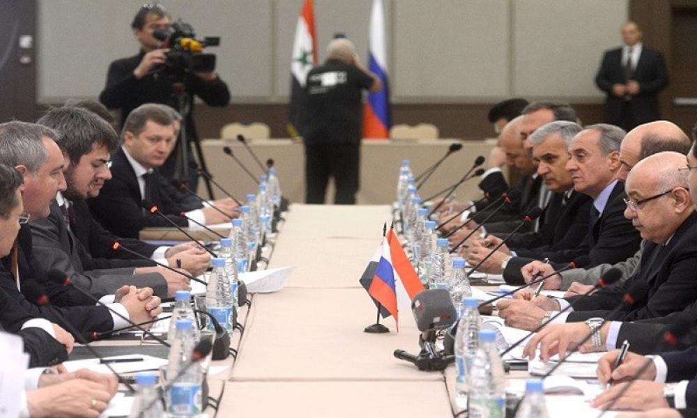 توقيع اتفاقية روسية سورية في مجال الصناعة