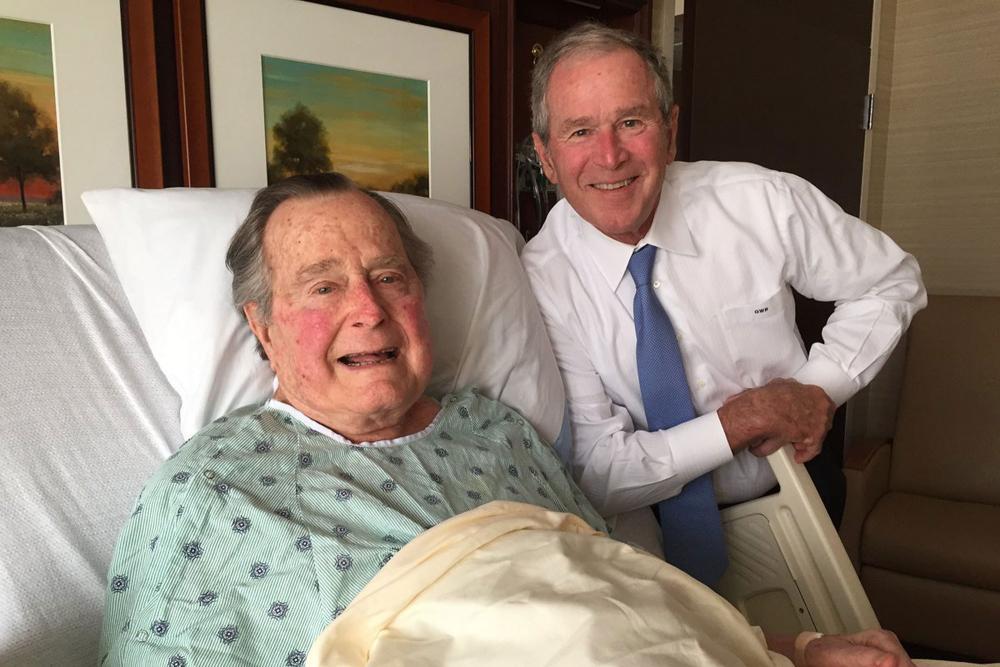 ماالذي قاله جورج بوش قبل رحيله؟