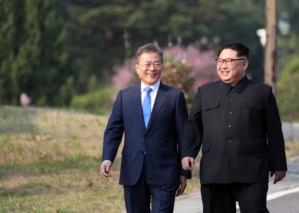 كيم جونغ يعتذر من نظيره الجنوبي