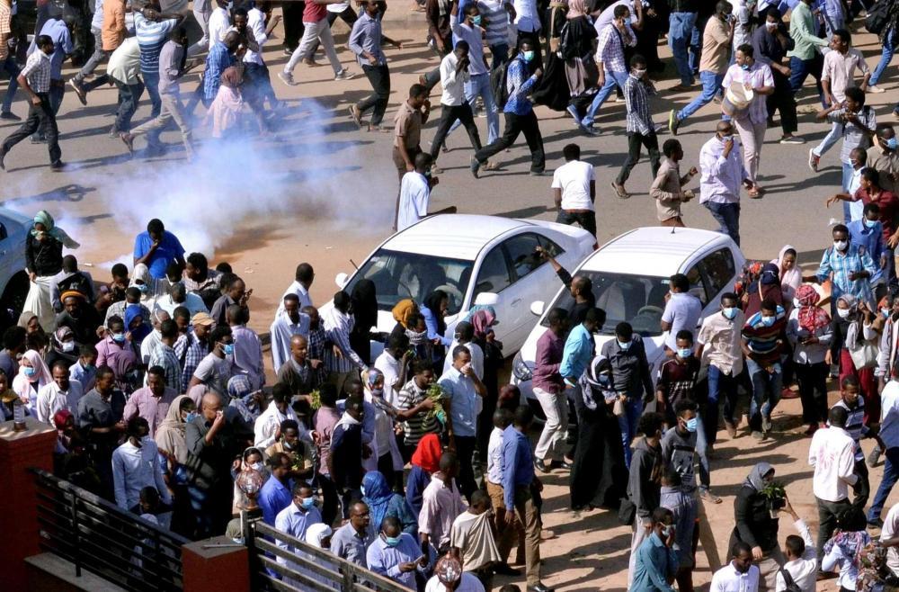 إغلاق مصارف سودانية بسبب الاحتجاجات