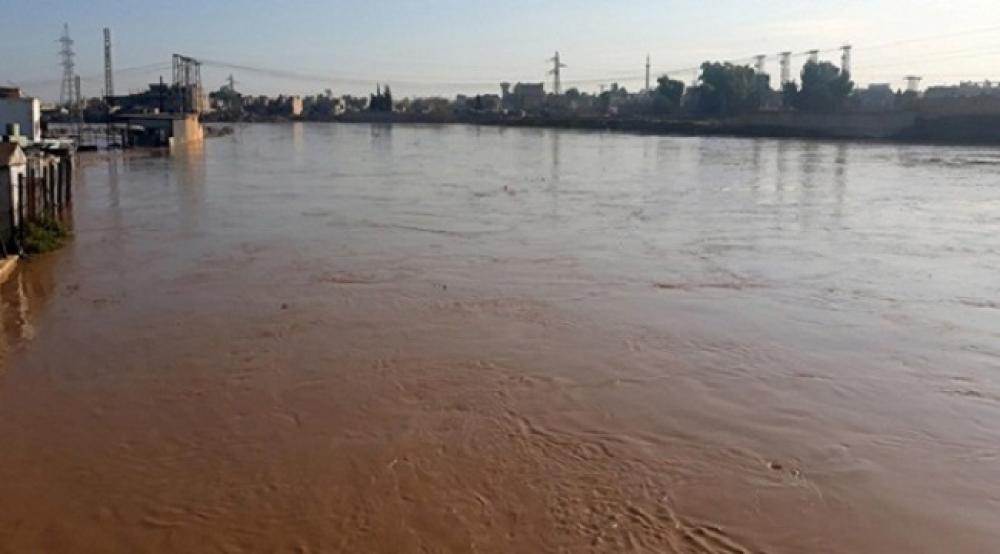أضرار مادية كبيرة بسبب فيضانات الحسكة