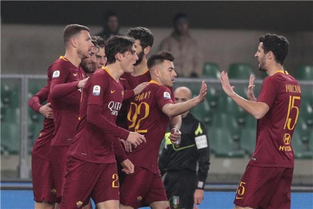 روما يعود لسكة الانتصارات