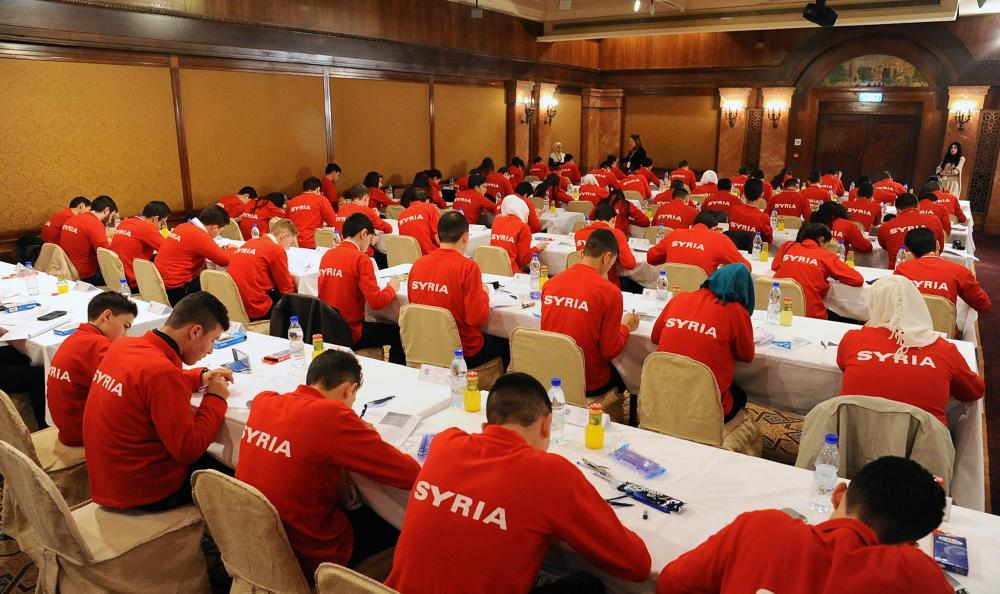 الاختبارات النهائية للأولمبياد العلمي السوري