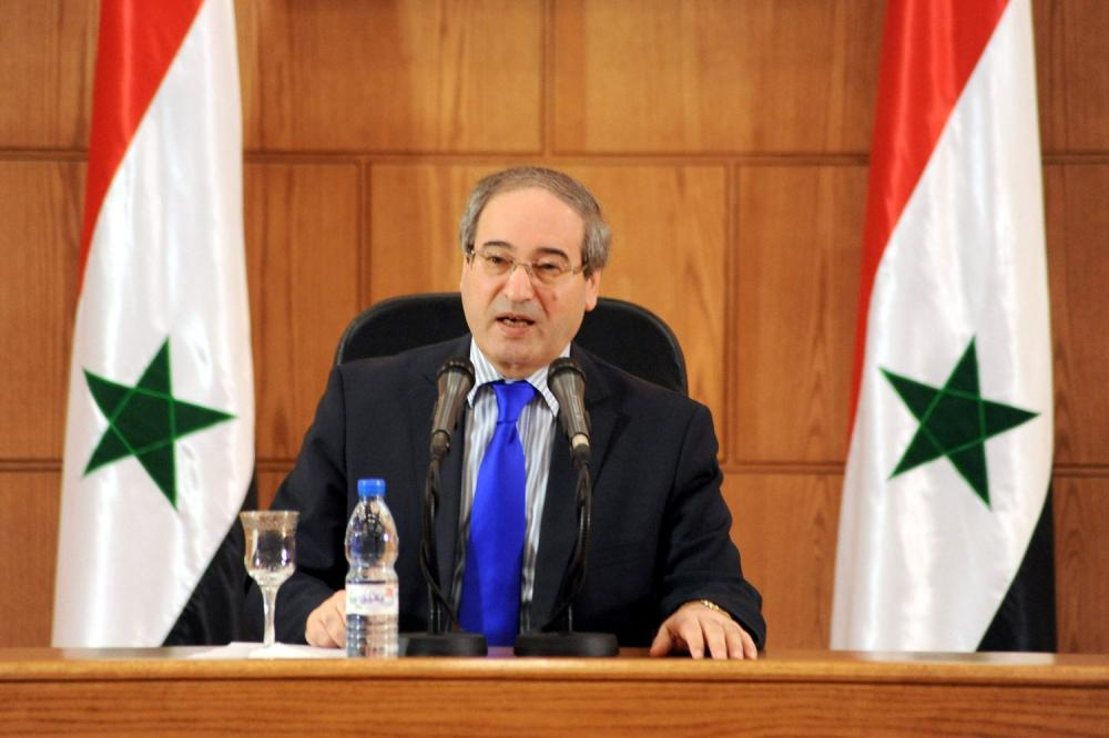 المقداد: القوات الأجنبية في سوريا ستغادر قريباً