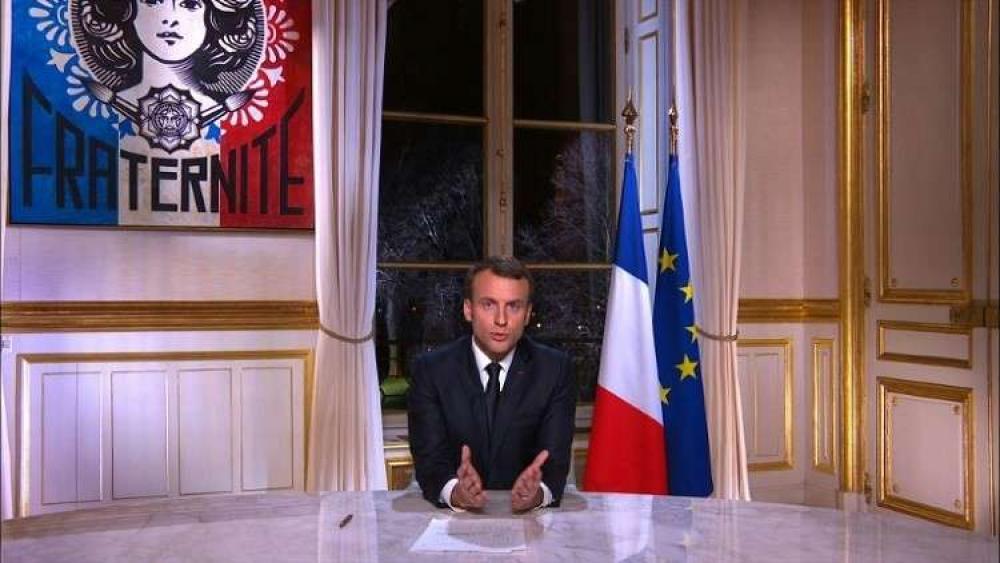 ماكرون: على الفرنسيين القبول بالواقع