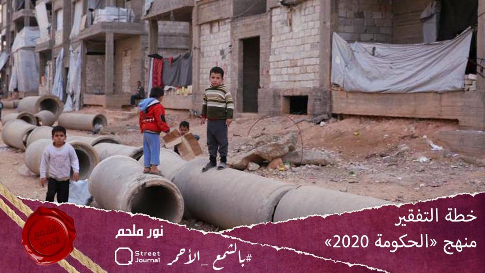 خطة التفقير منهج «الحكومة 2020»