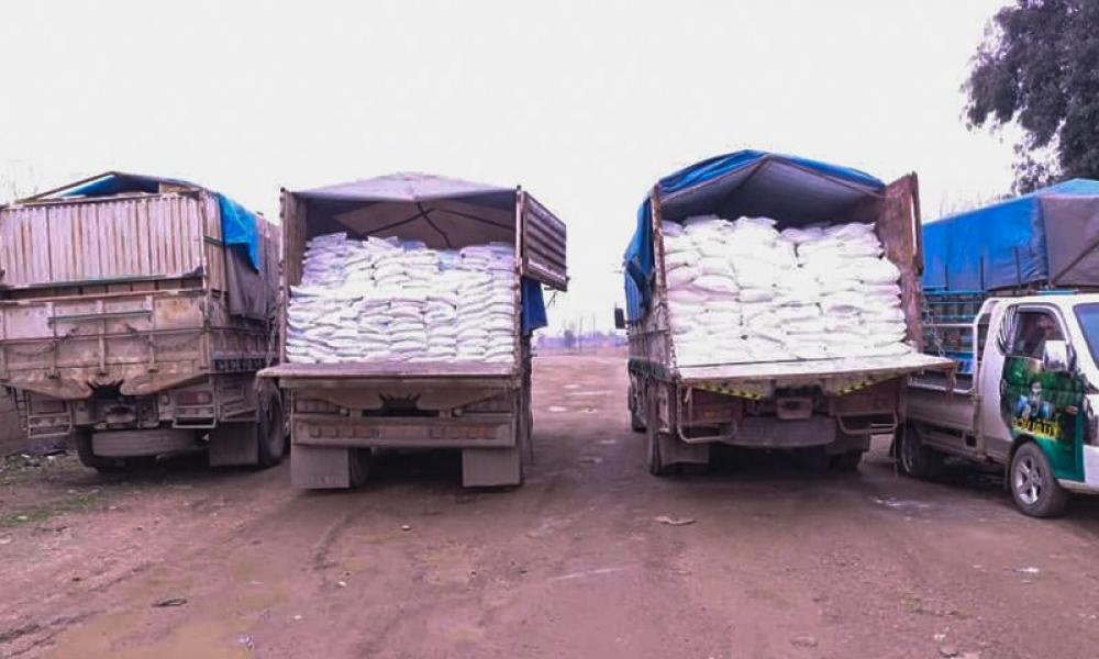 """""""قسد"""" تصدر القمح إلى العراق.. وأزمة الخبز تتفاقم في الحسكة"""