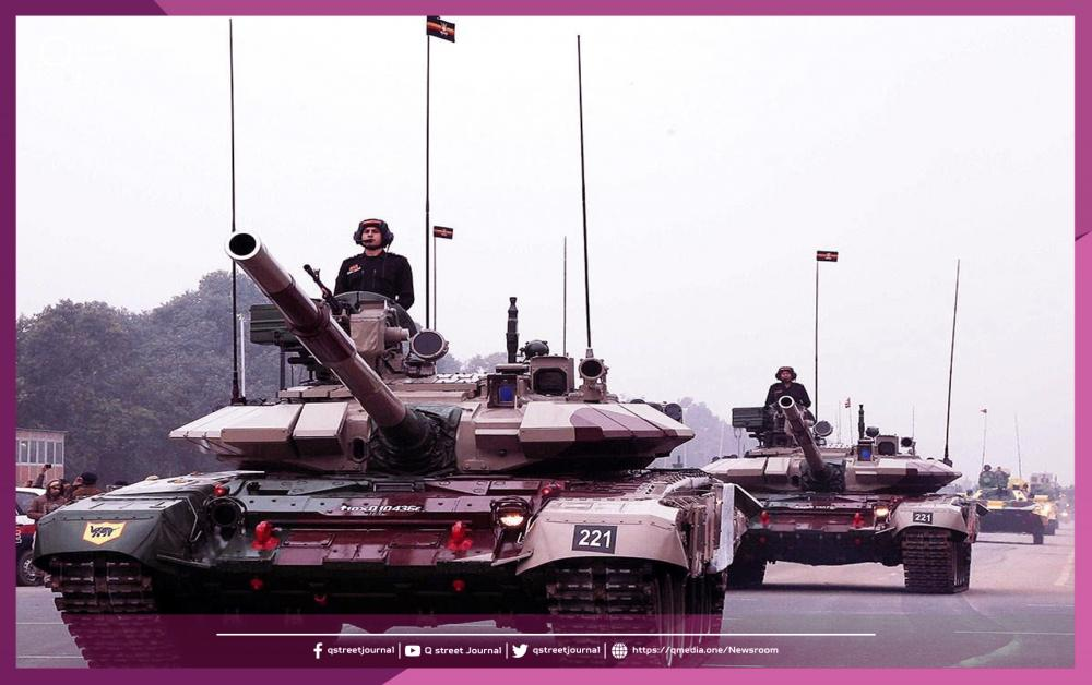 حشود عسكرية في منطقة نزاع بين الهند والصين