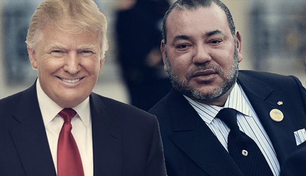 أوسمة متبادلة بين المغرب وترامب