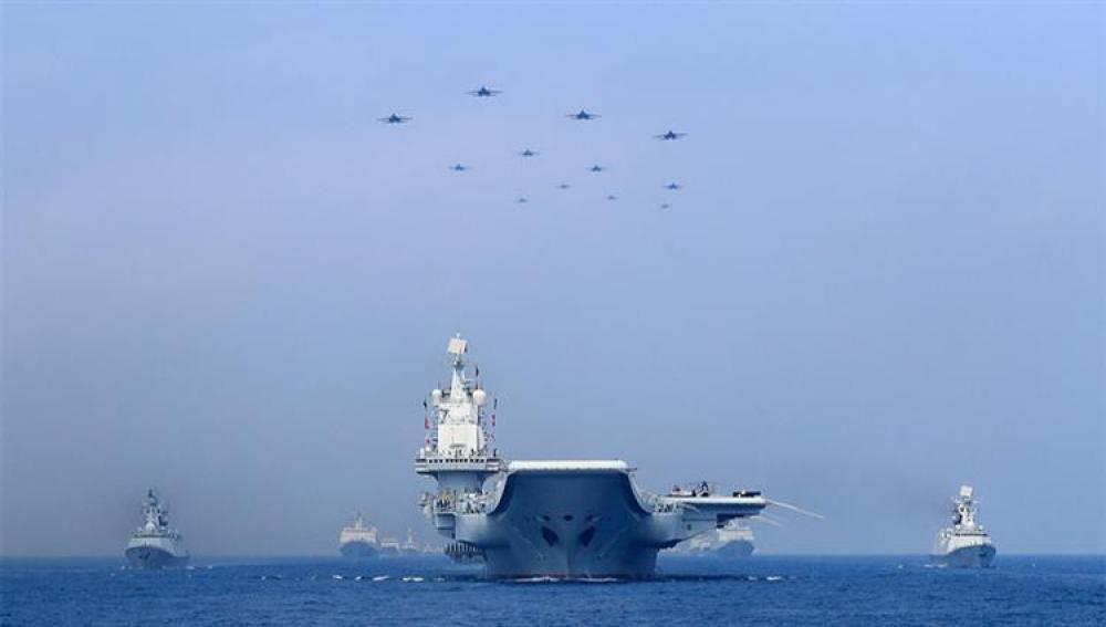 بكين تطلق مناورات عسكرية ضخمة بالقرب من تايوان