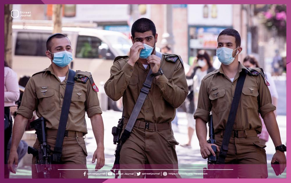 انتشار كورونا بين جنود الاحتلال الإسرائيلي