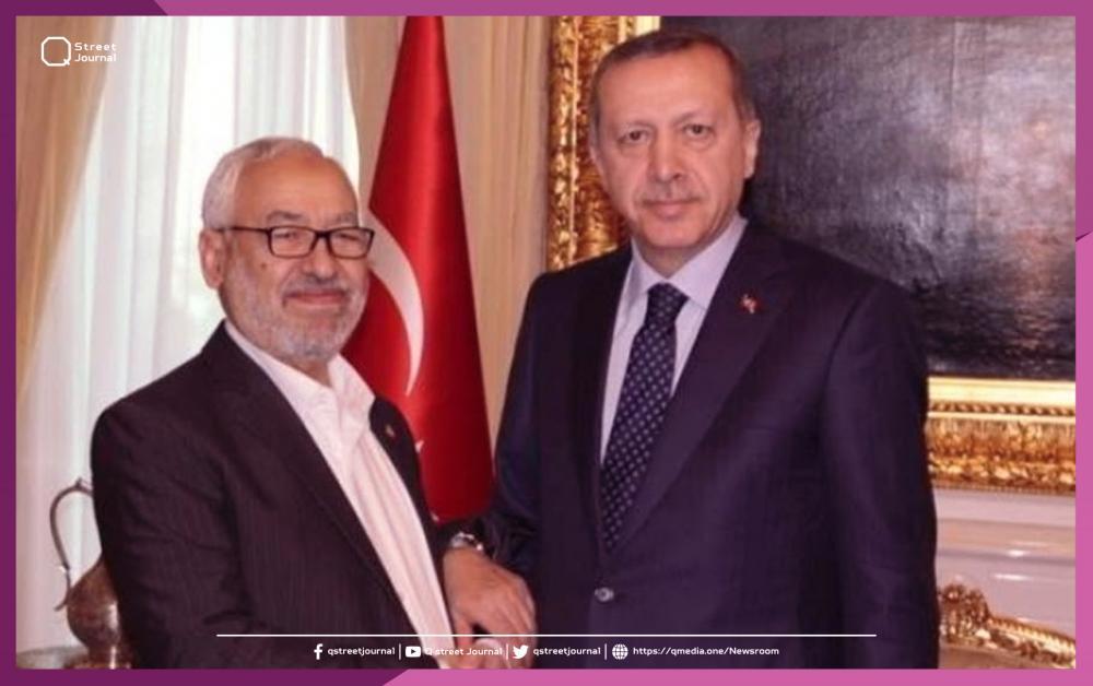 على خطا أردوغان.. الغنوشي يهدد أوروبا باللاجئين