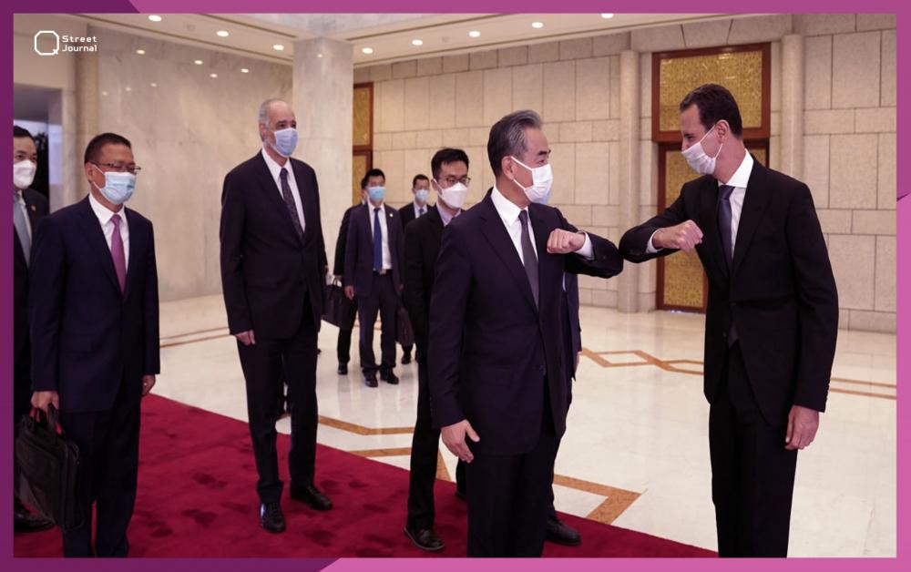 الأسد يستقبل مسؤول صيني بارز.. مبادرة صينية لسوريا!