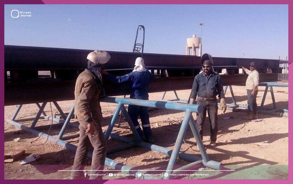 إعادة بئر غاز للإنتاج في سوريا