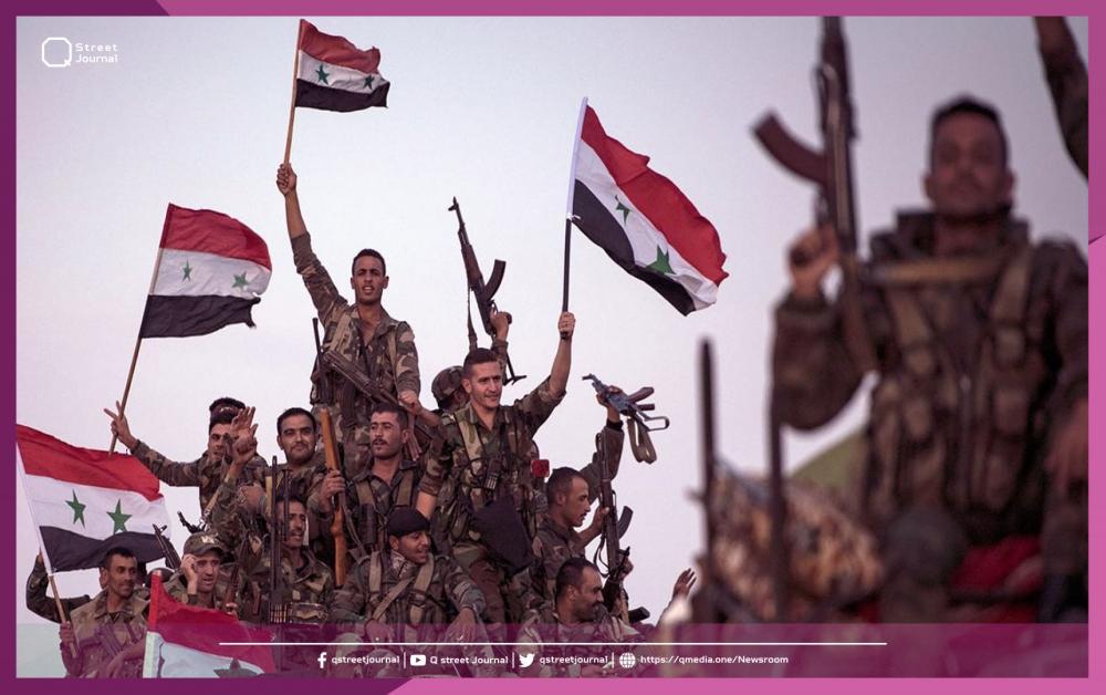 """الجيش السوري ينتشر في درعا.. تنفيذاً لاتفاق """"درعا البلد"""""""