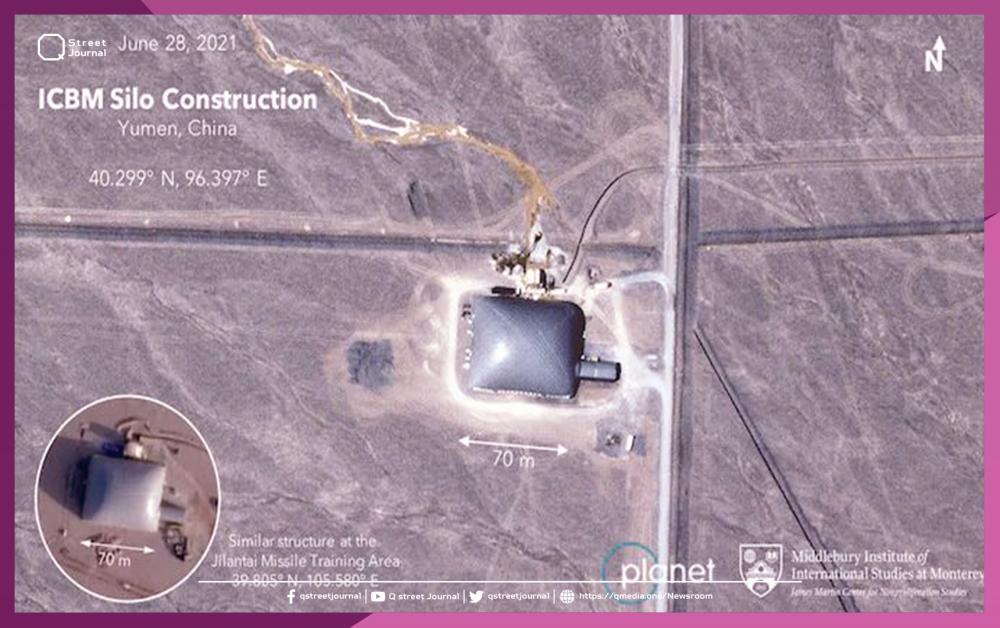 الصين تبني  مدينة صاروخية كاملة في الصحراء