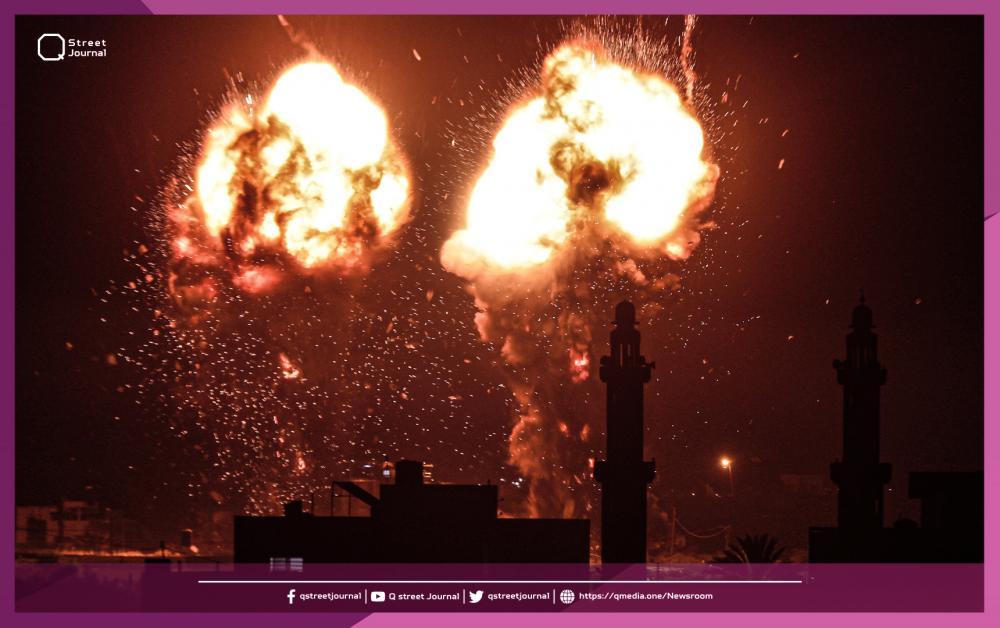 الاحتلال الإسرائيلي يعود بغاراته على غزة