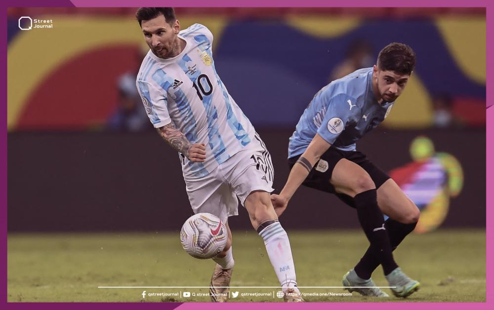 ميسي يتميز يتمريرة رائعة لتفوز الأرجنتين