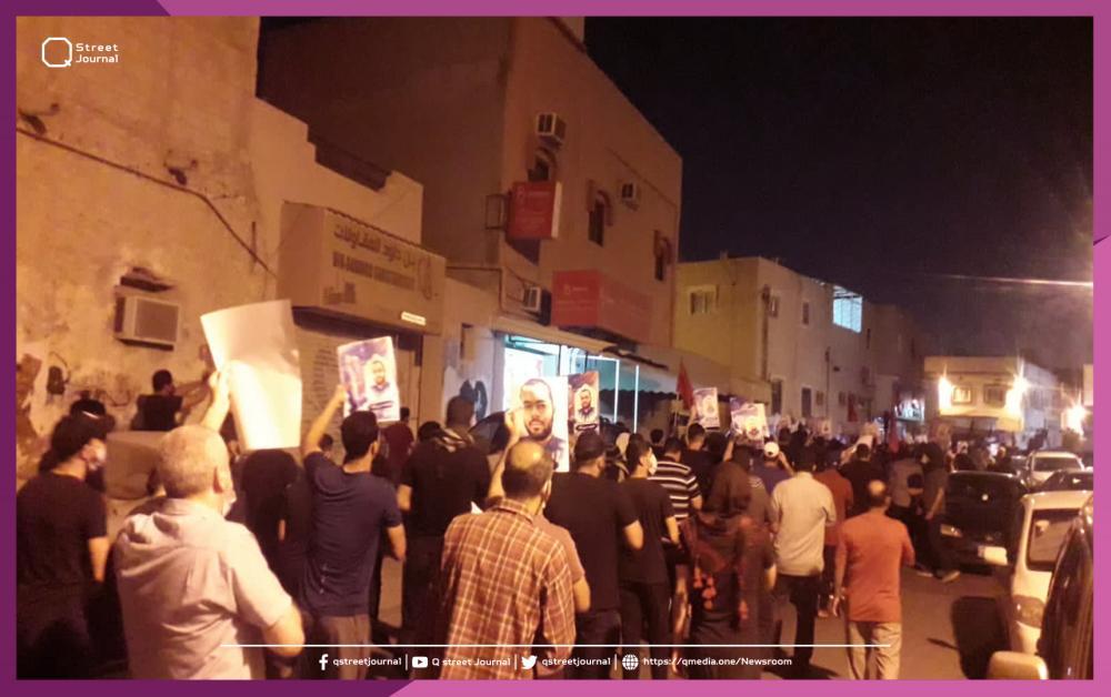 تظاهرات في البحرين عقب وفاة أحد المعتقلين داخل السجن
