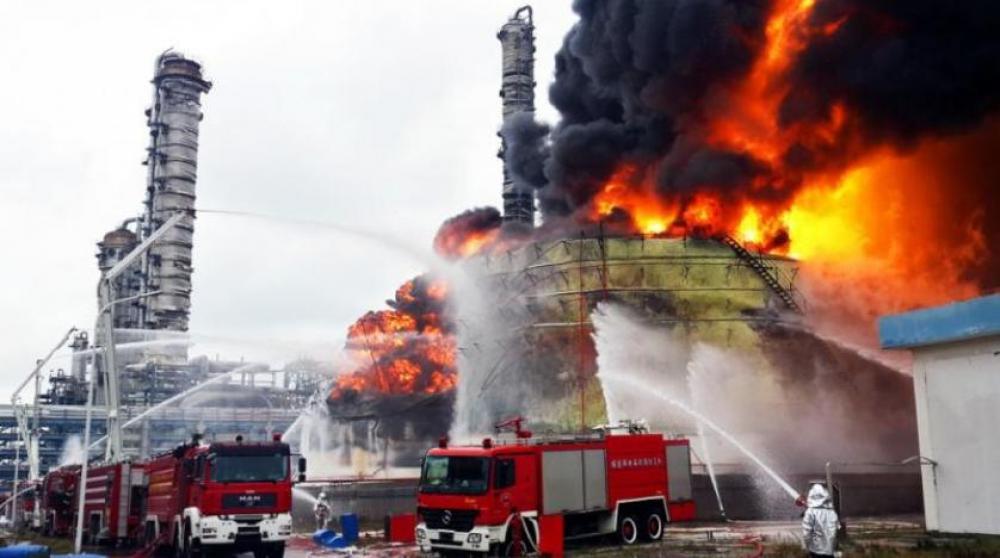 مقتل 44 شخصاً وإصابة 650 نتيجة انفجار مصنع للكيميائيات في الصين