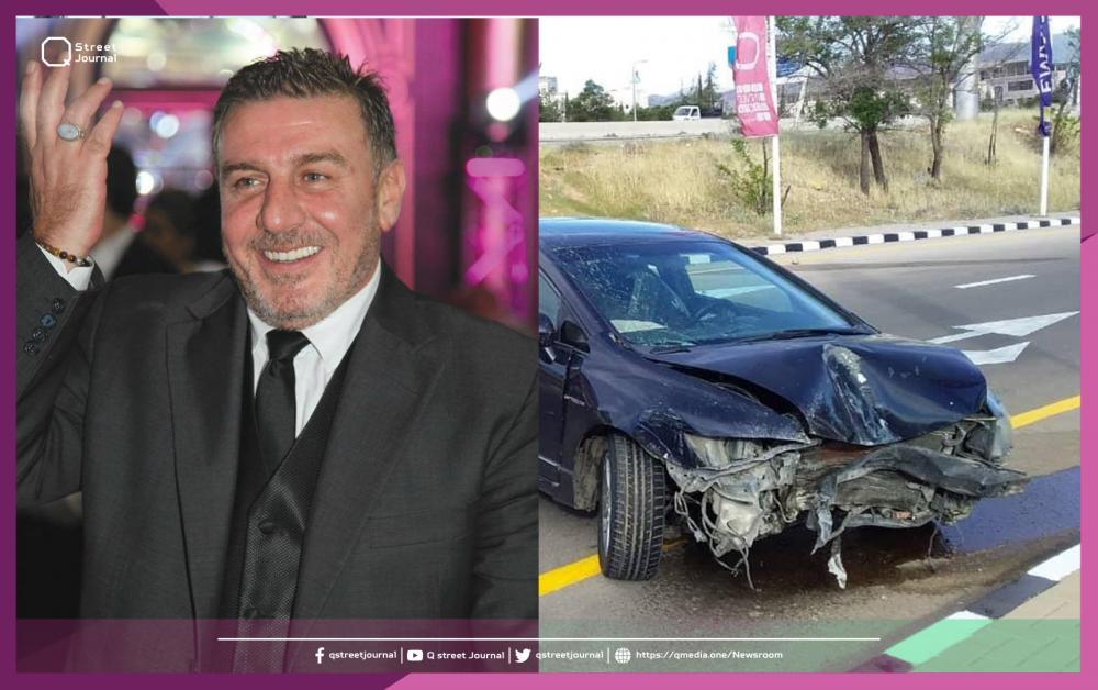 وائل رمضان يتعرض لحادث سير مدبر