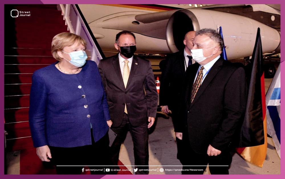 في سابع زيارة لها.. ميركل تصل إلى مطار بن غوريون