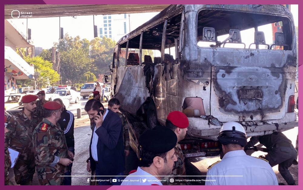 مصدر عسكري يكشف تفاصيل انفجار دمشق