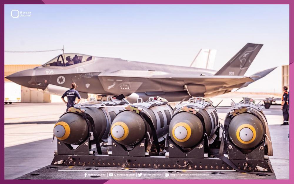 أنواع الطائرات الحربية التي يستخدمها جيش الاحتلال
