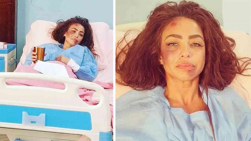 دوللي شاهين مهددة بالحبس والطرد من مصر بعد ترويجها لمسلسلها