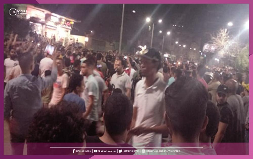 المظاهرات الليلية تتواصل لليوم الثالث في مصر