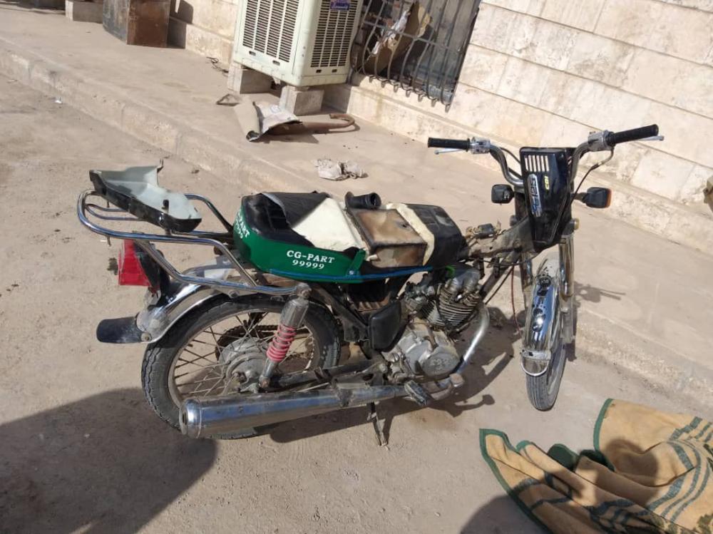 دراجة نارية كانت معدة للتفجير في الحسكة.. وهذا ما حصل؟