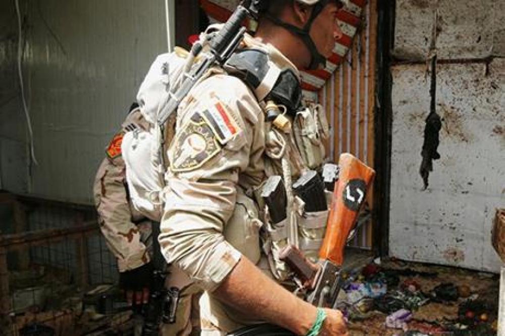 استهداف دبلوماسيين أجانب غربي بغداد