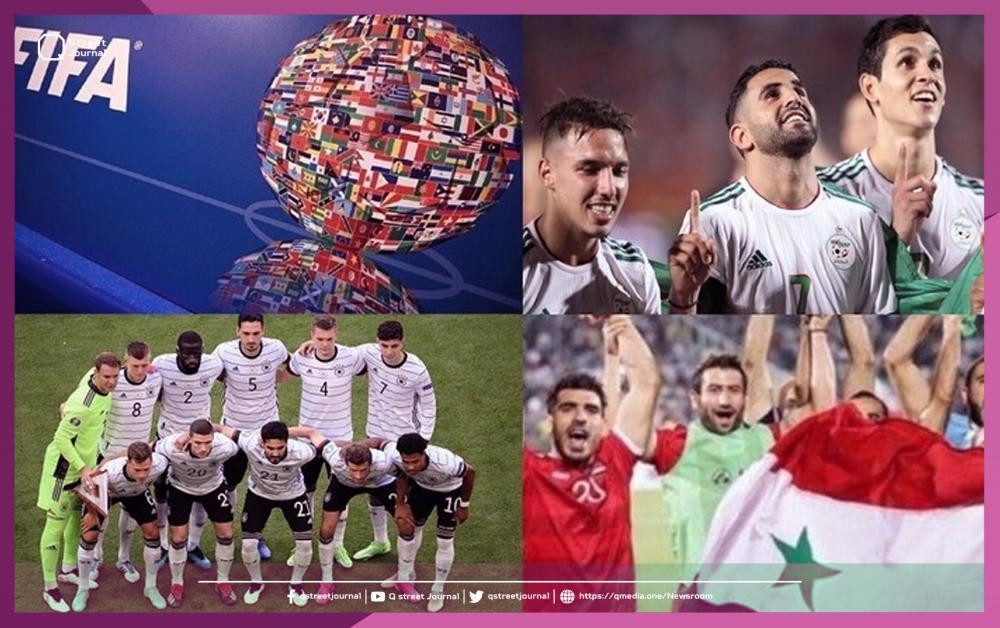 مواعيد مباريات اليوم في التصفيات المؤهلة لمونديال قطر