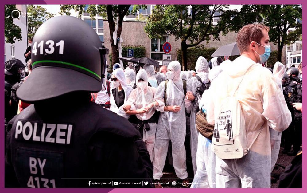 نشر 4500 شرطي ألماني بسبب الاحتجاجات
