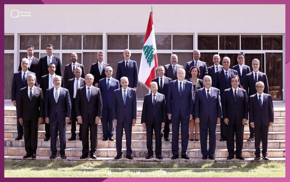 الاجتماع الأول للحكومة اللبنانية.. «العمل على خطوط رئيسية»